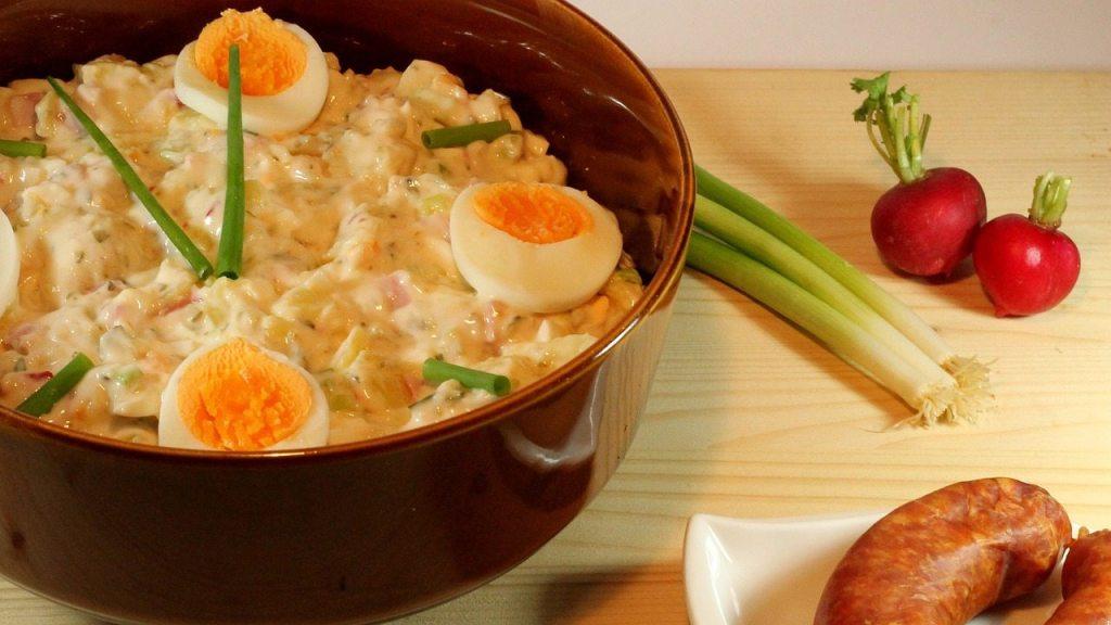 receta ensalada de papa con huevo mayonesa