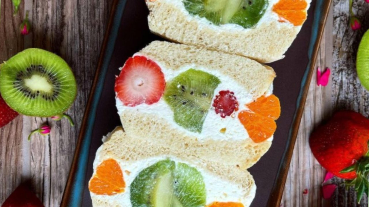 sandwich de frutas japones paso a paso