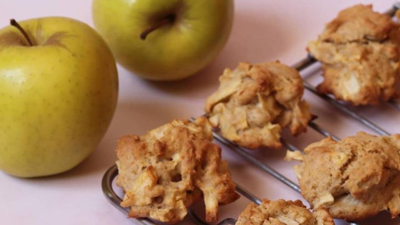 receta de galletas de manzana canela