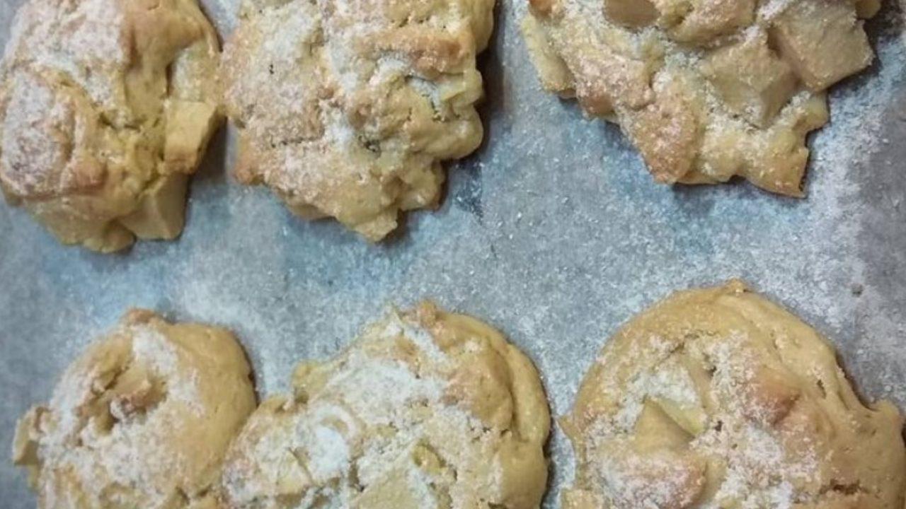 receta de galletas de manzana paso a paso