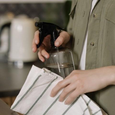 trucos de limpieza con vinagre blanco