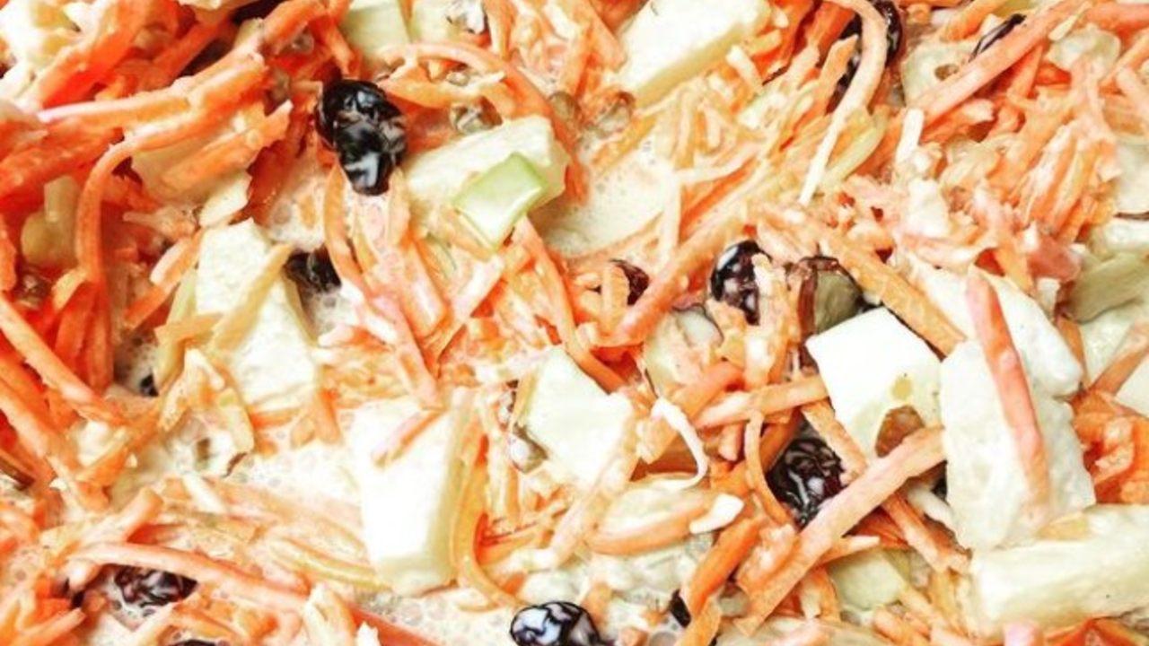 como preparar una ensalada de zanahoria cremosa receta