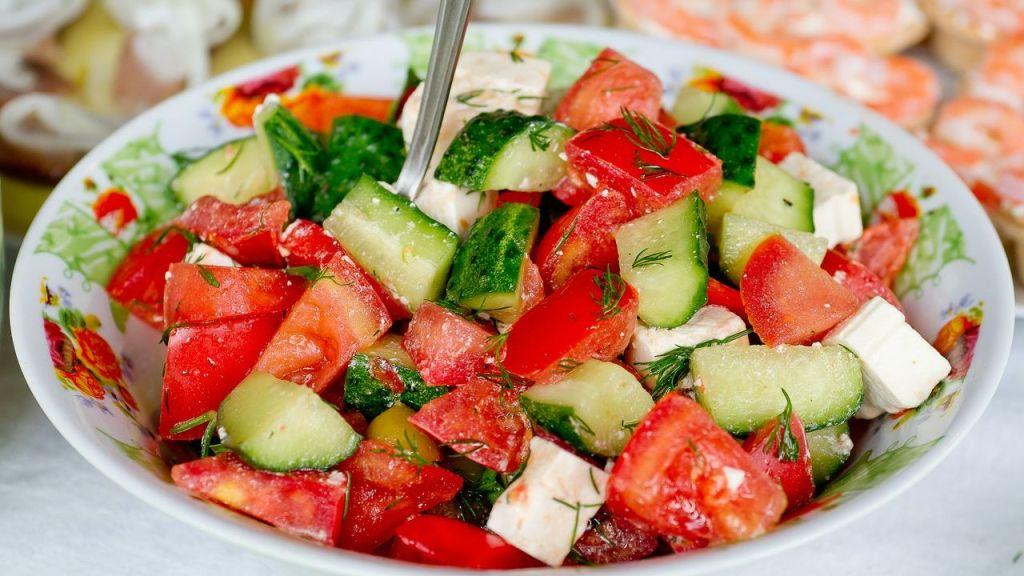 receta de ensalada de pepino y jitomate marinado vinagre
