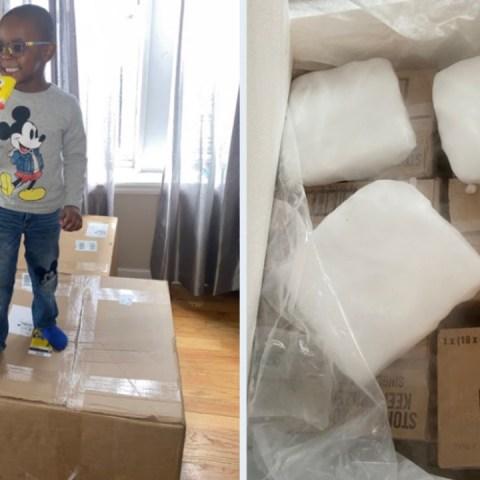 niño de 4 años compró 50 mil pesos en paletas de hielo en Amazon y endeudó a su mamá