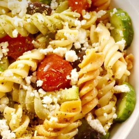 receta ensalada griega ingredientes griegos deliciosa saludable