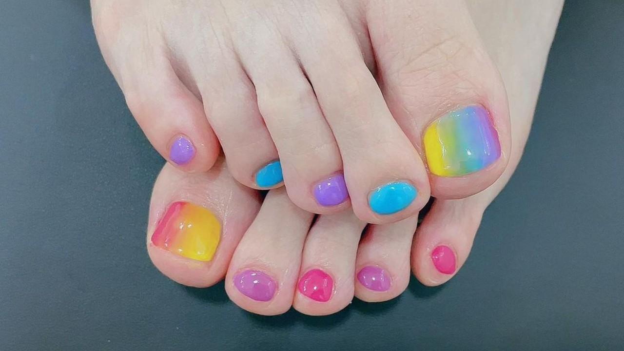 ideas para pintar las uñas de los pies