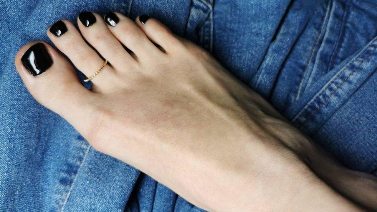 diseños para decorar las uñas de los pies