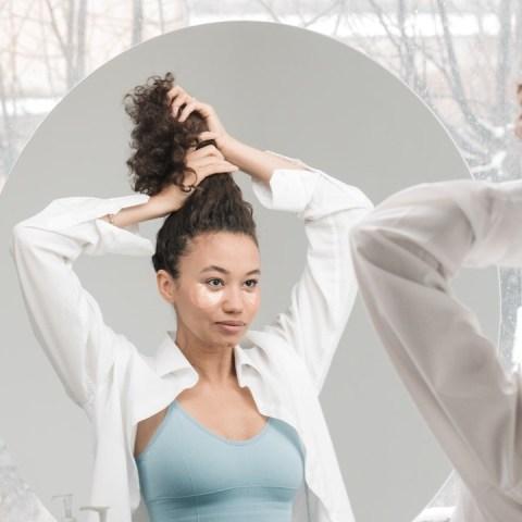 alaciar cabello son calor remedio