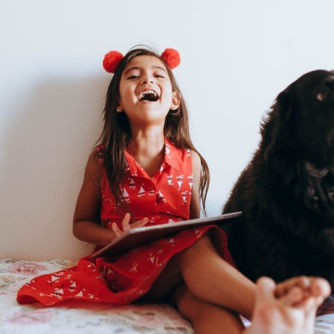 razas de perros grandes para niños
