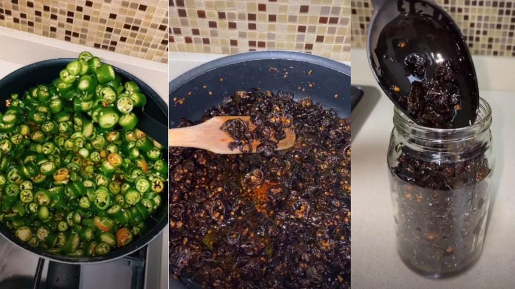 Chicharrón de chile serrano, receta fácil