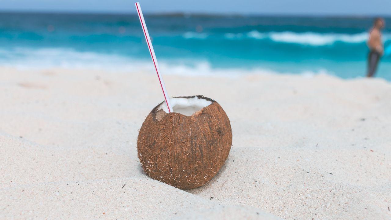 Nutrientes del agua de coco