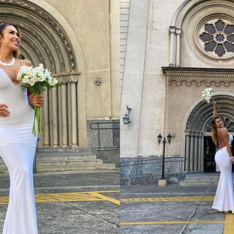 modelo brasileña se caso con ella misma para celebrar amor propio