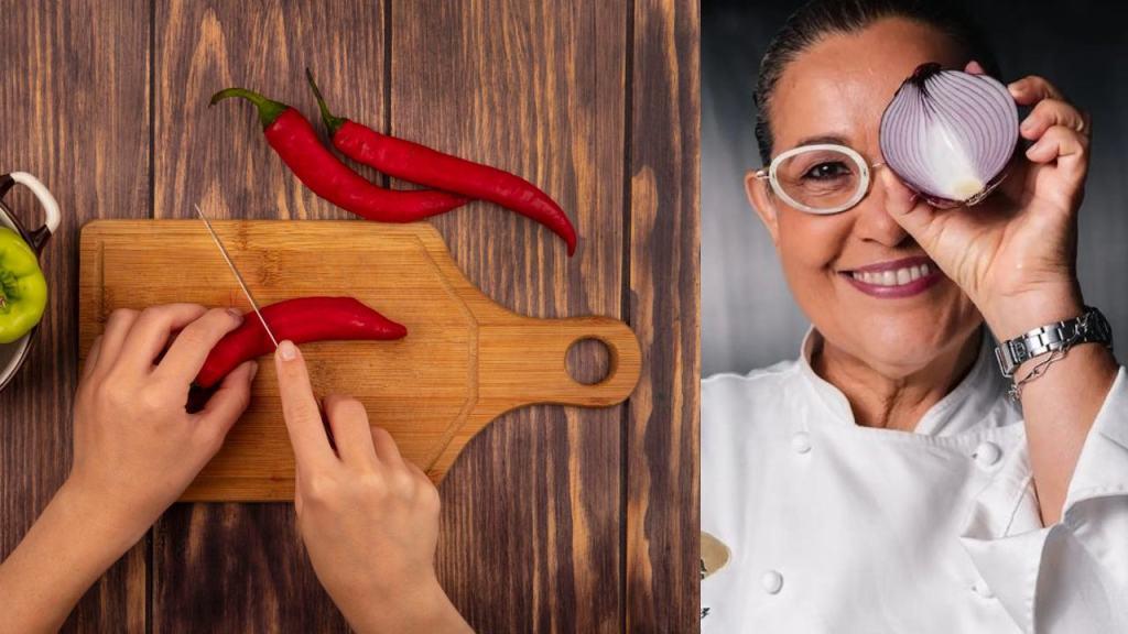 Como desvenar chiles sin enchilarte
