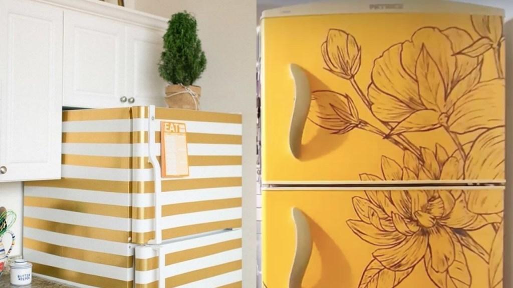 ideas para decorar refrigerador