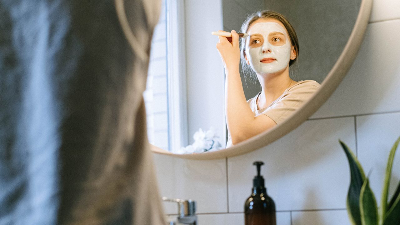 Mascarilla de pera para prevenir las arrugas