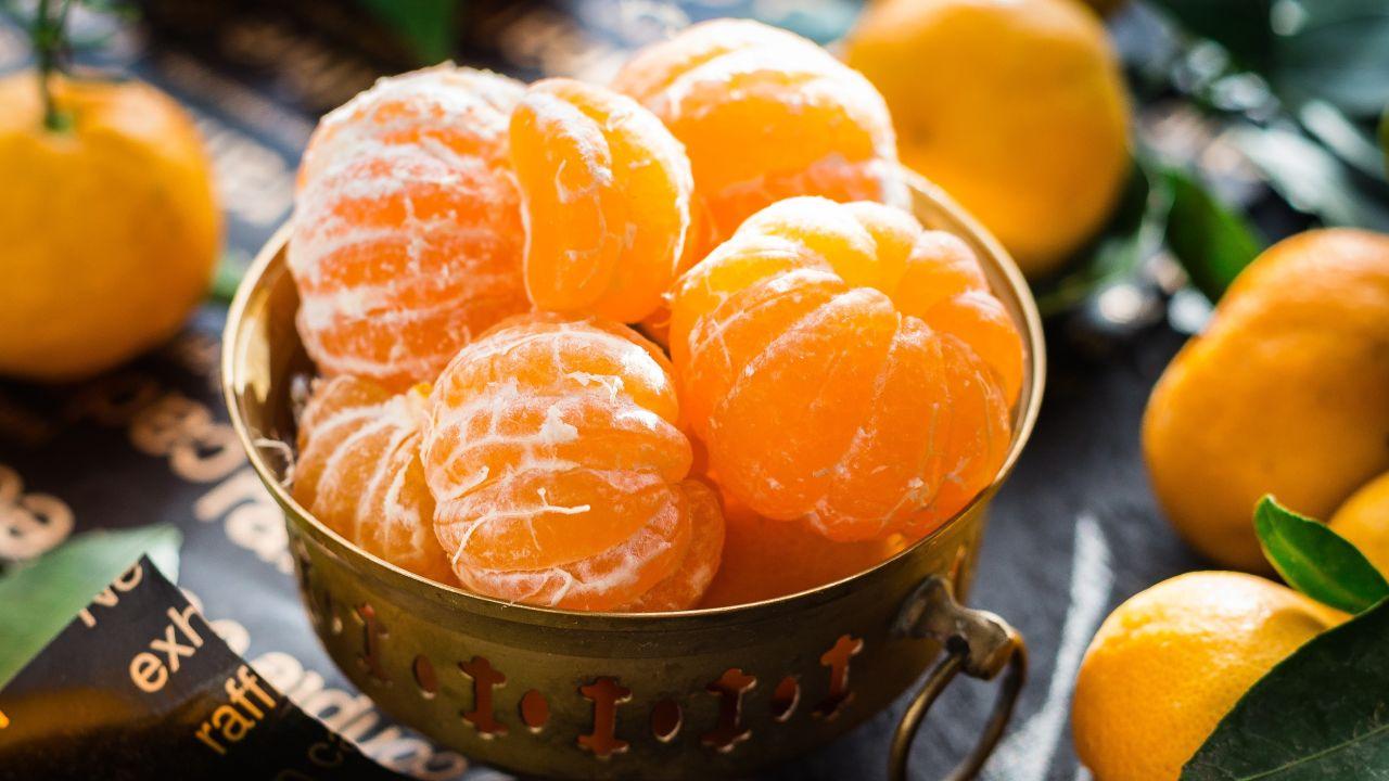 Cómo hacer mascarilla de mandarina