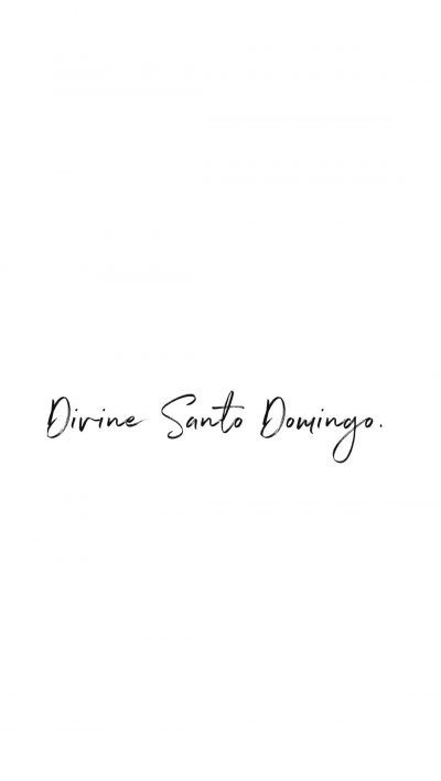 DIVINE SANTO DOMINGO