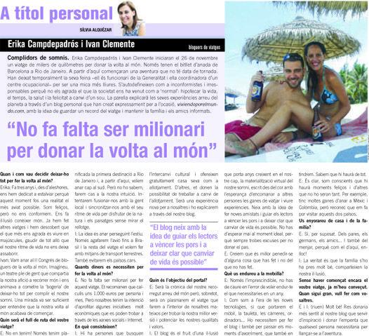 Entrevista a Ivan y Erika de Viviendoporelmundo.com