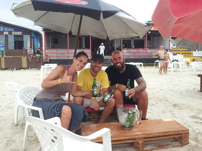De cervecitas con Juan, un viajero de Madrid