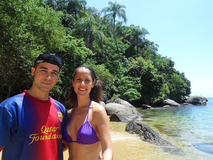 Playas visitadas con el tour
