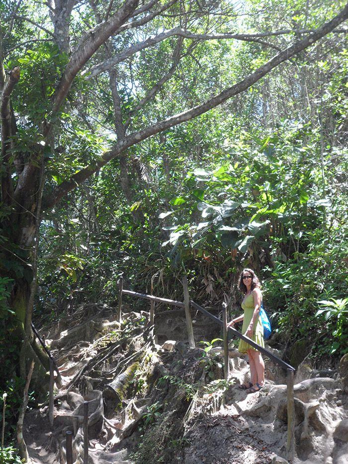 Trekking camino de las piscinas naturales
