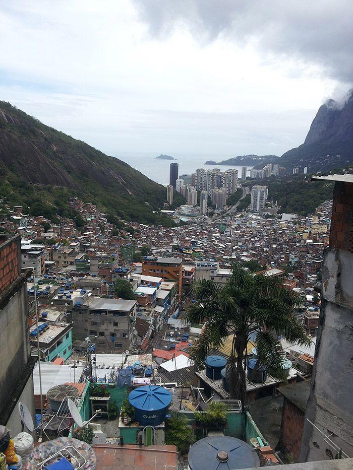"""Favela """"Rocinha"""" la más grande de Sudamérica"""
