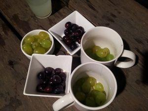 Nuestras uvas para las campanadas