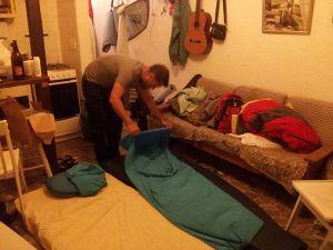 ¡Nuestra primera experiencia en Couchsurfing no fue nada mal!