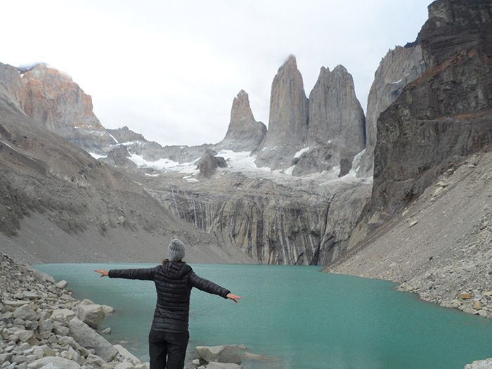 Circuito W Torres Del Paine Mapa : Circuito w en torres del paine camping guía tours en