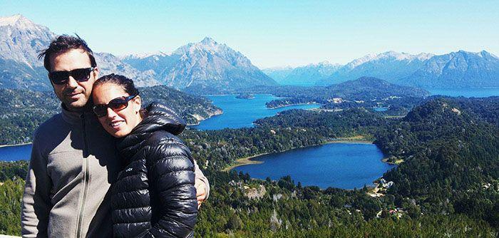Nos quedamos maravillados con éstas vistas