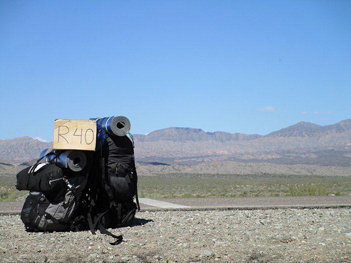 Autostop hacia Salta