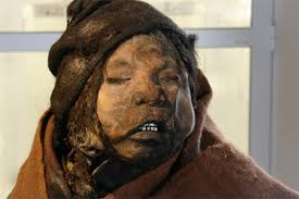 La niña del rayo, una de las tres momias de Llullaillaco