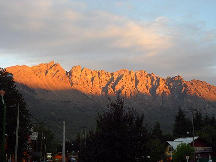 Espectaculares vistas del cerro Piltriquitrón