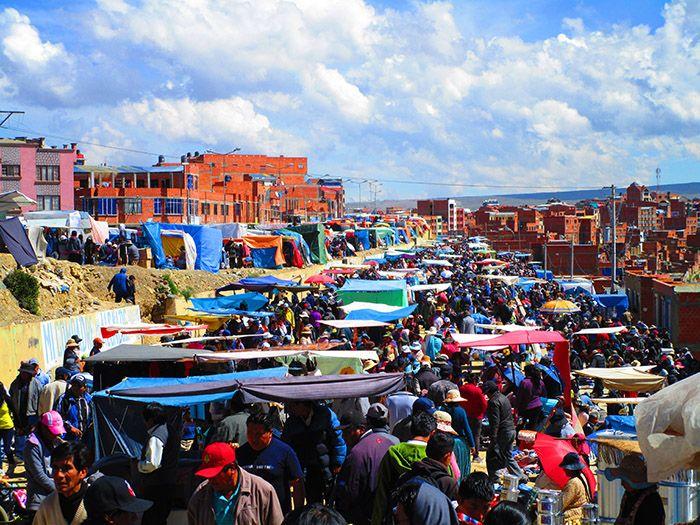 Mercado de El Alto