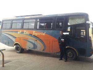 Bus típico de Bolivia