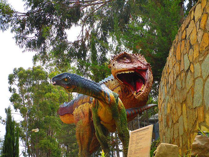 Parque Cretácico en Sucre
