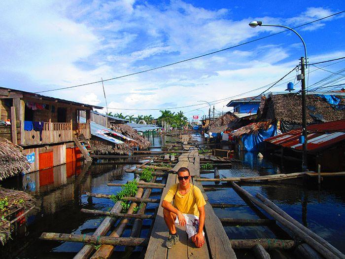 Puerto Nanay estaba completamente inundado ¡alucinamos de cómo vivía la gente allí!