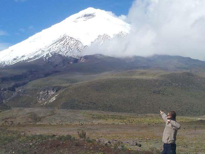 Volcán Cotopaxi... ¡allá vamos!