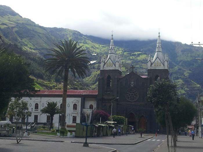 La catedral de Baños es de cuento