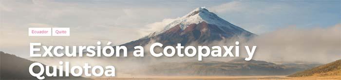 Excursión a Cotopaxi y Quilotoa en un día