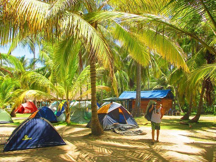 ¡El camping de Arrecifes es más tranquilo y no está nada mal!