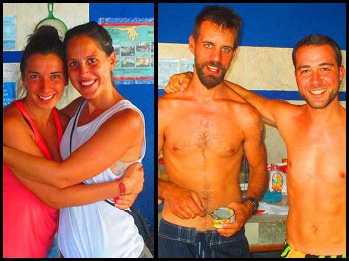 Manu y Ivanna, ¡esperamos veros pronto!