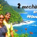 2 mochileros en Hawaii
