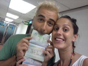 ¡Conseguimos el visado de China!