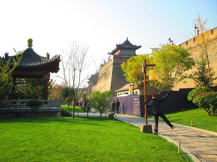 Entrada sur de la ciudadela en Xian