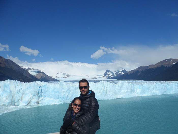 Glaciar Perito Moreno, en El Calafate, Argentina