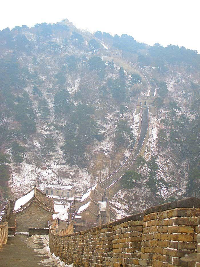 Pekín. La Gran Muralla China desde Mutianyu