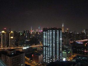 Shanghai vista nocturna