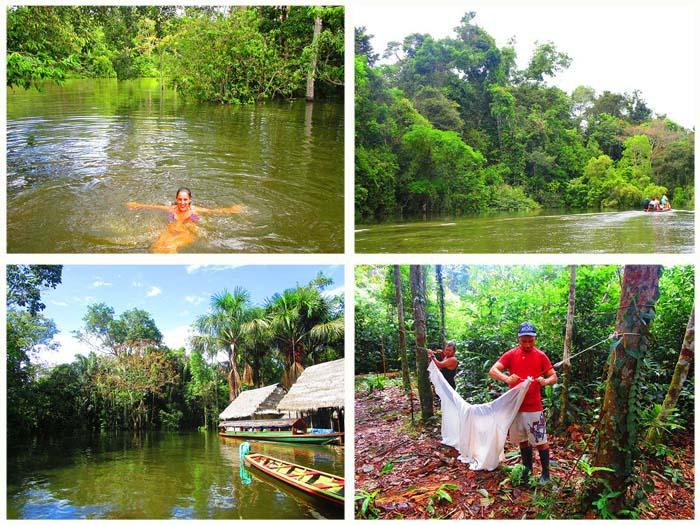 Tour por la parte amazónica de Perú, en Pacaya Samiria