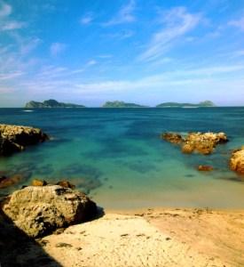 Que playas puedes ver en islas Cíes